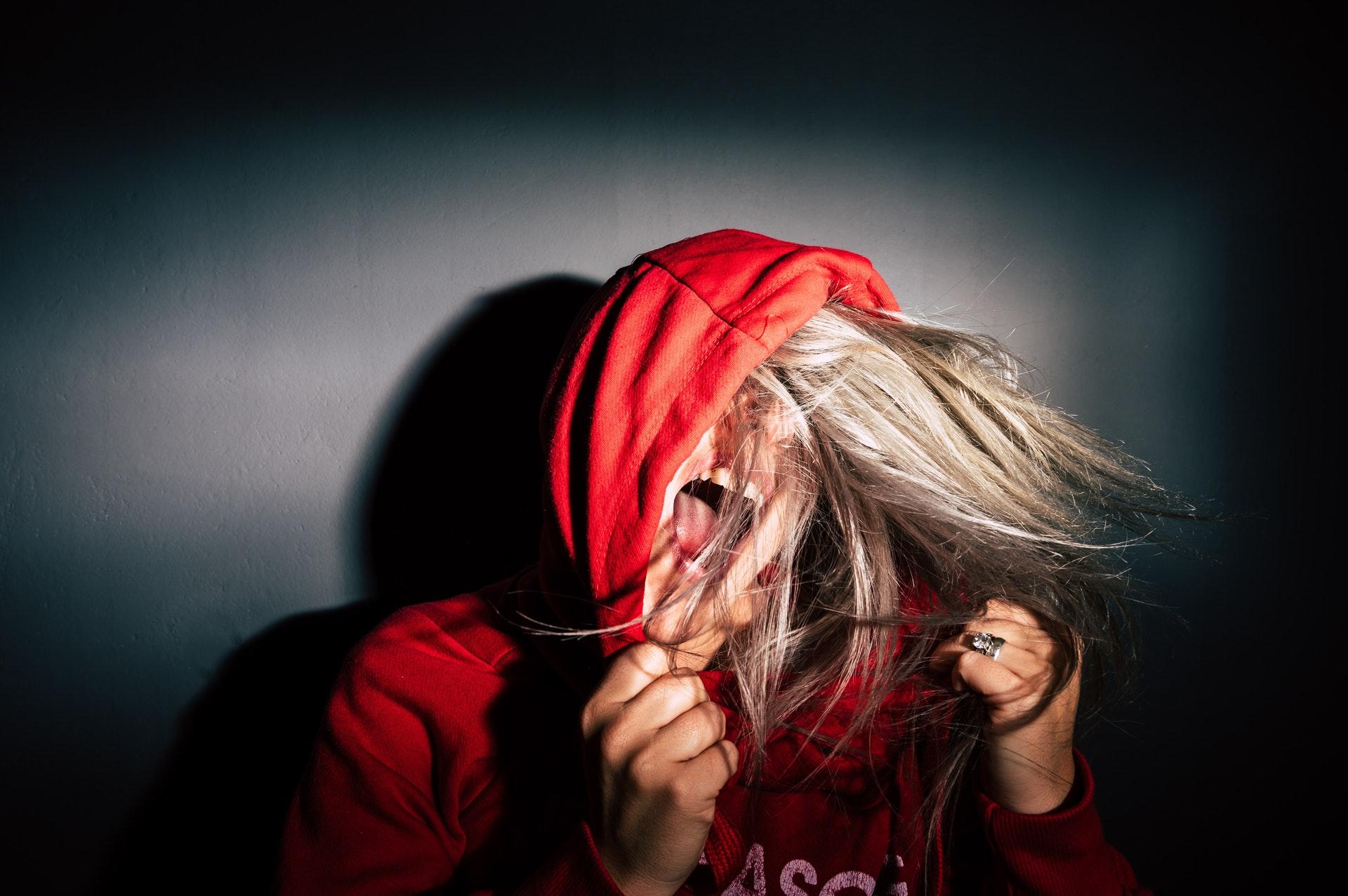 Girl-angry