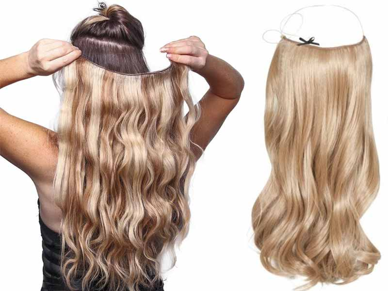 you can definitely curl or dye halo extensions