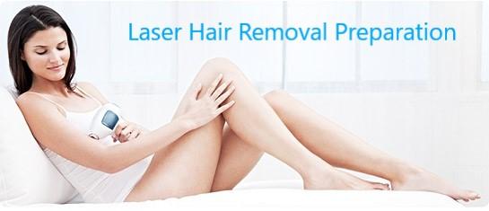 Laser Hair Removal PREPARATION