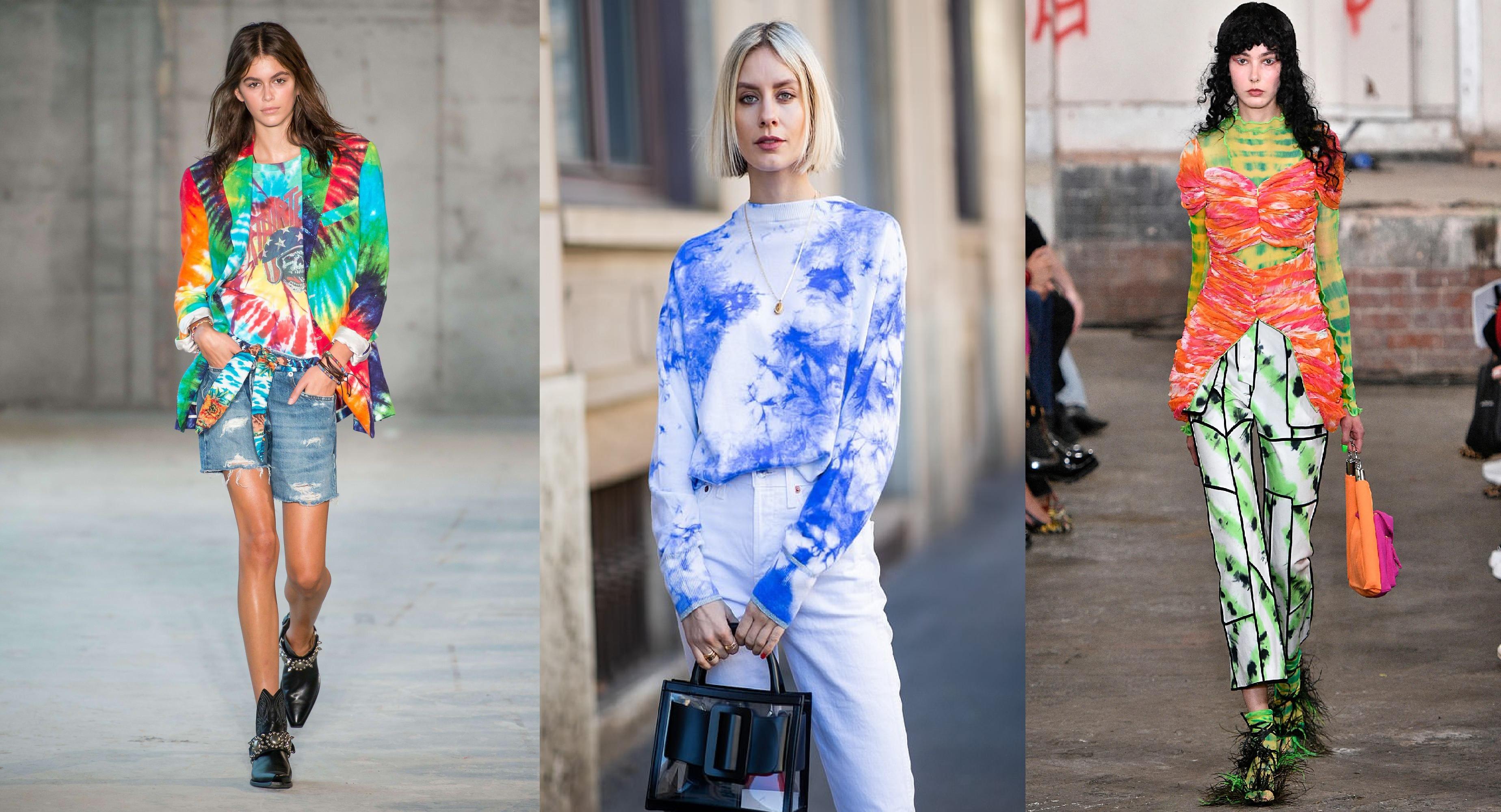 latest tie dye fashion 2020