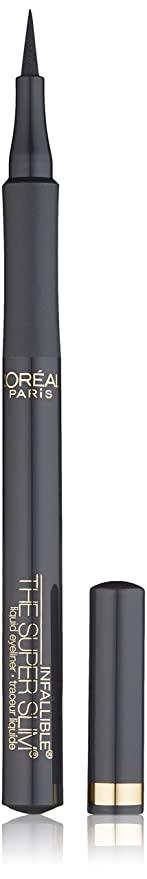 L'Oreal Paris Makeup Infallible Super Slim Long-Lasting Liquid Eyeliner