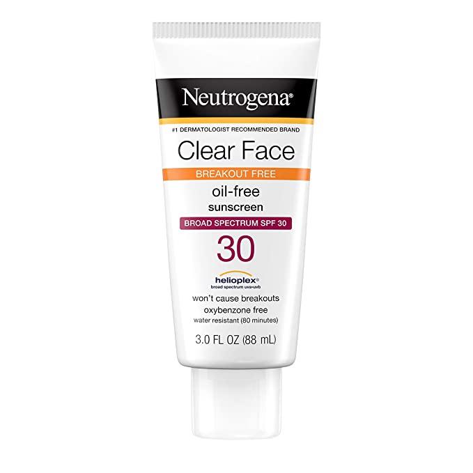 Neutrogena Clear Face Liquid Sunscreen