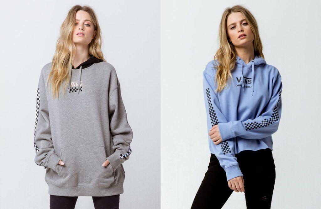 Oversized sweatshirts for women