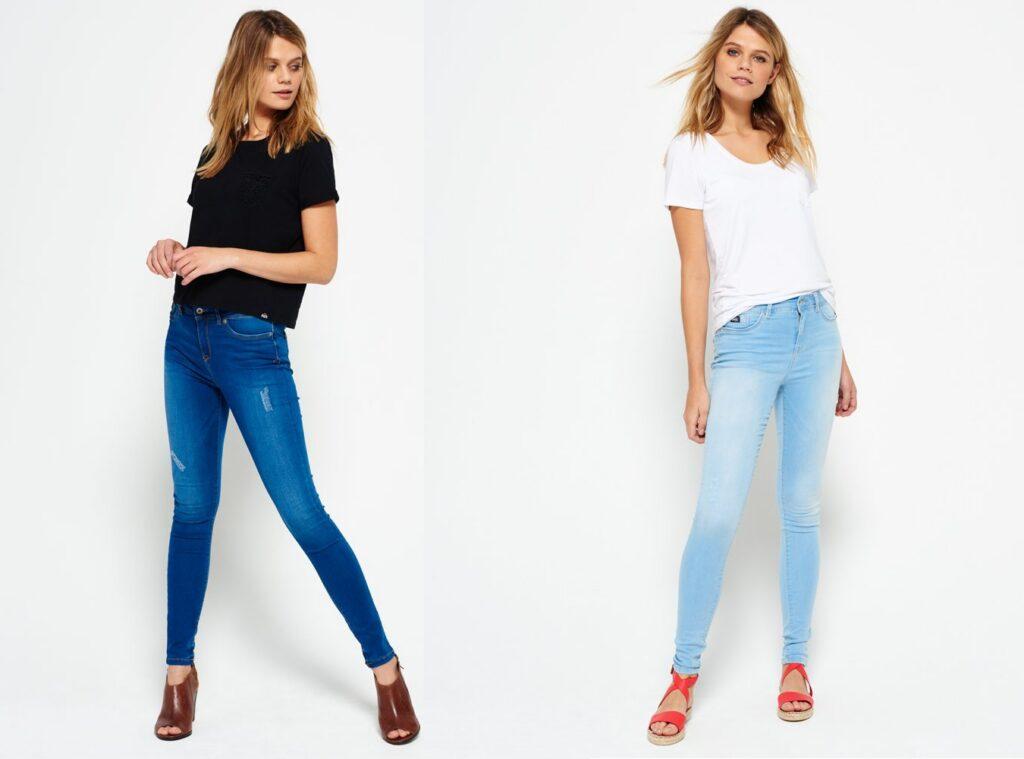 Super skinny jeans for women