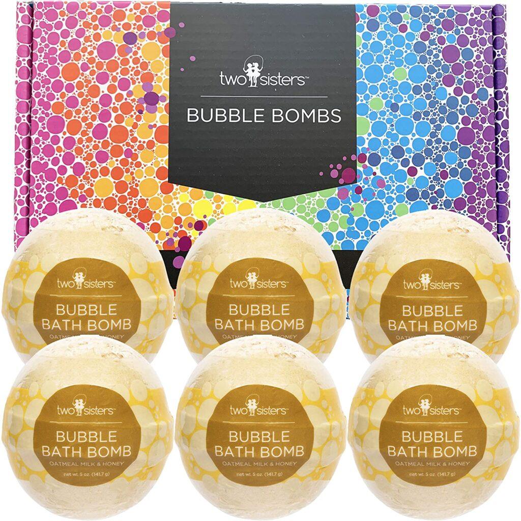 atmeal Milk & Honey Bubble Bath Bombs