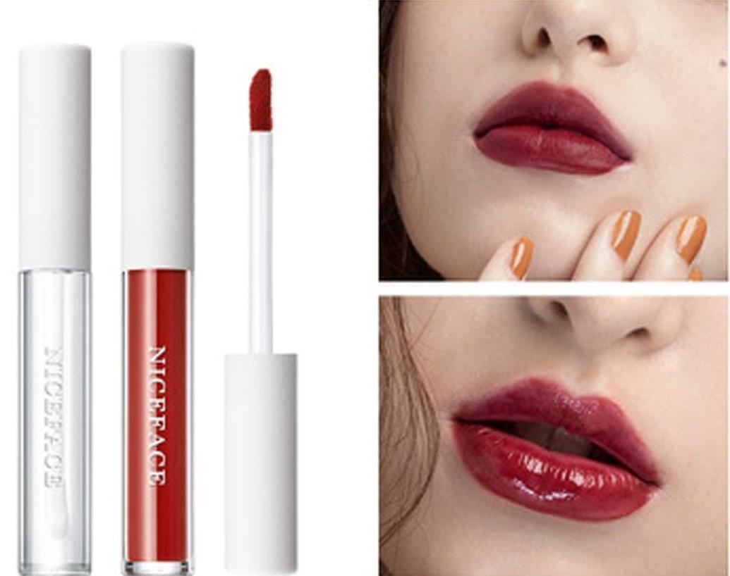 Matte Velvety Liquid Lipstick With Lip Plumper