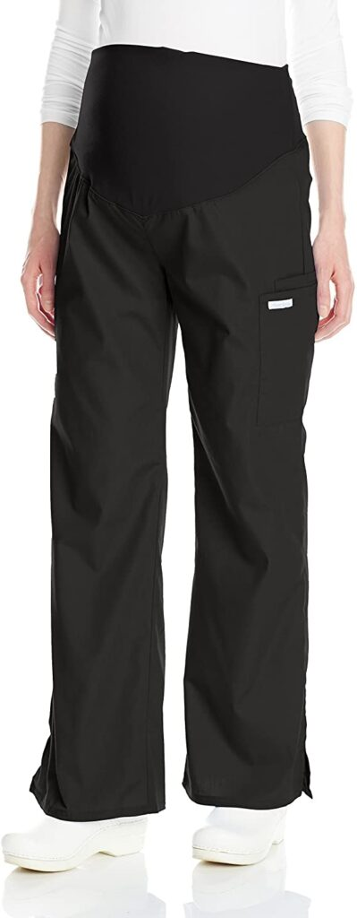 Cherokee flexible women's maternity scrub pants