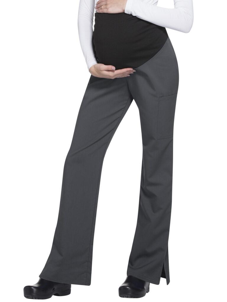 Women's stretchable rayon flexible maternity scrub pants by scrub star