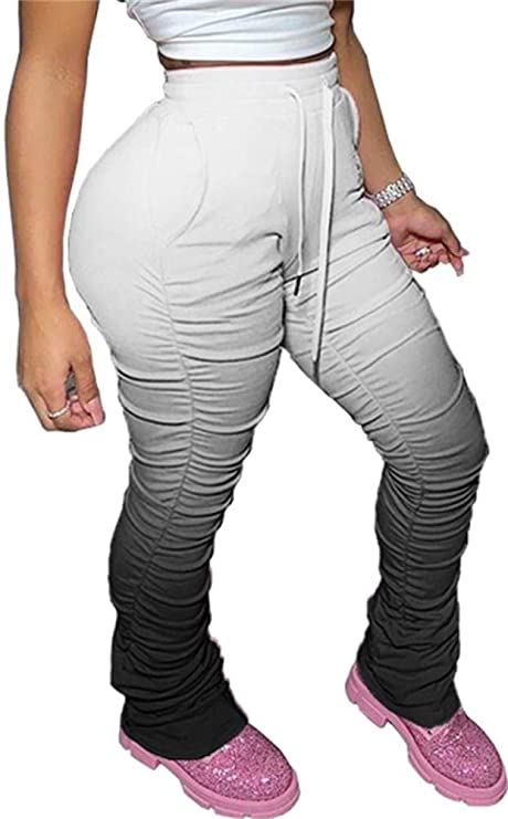 Lucuna Plus size Stacked Leggings with Pockets
