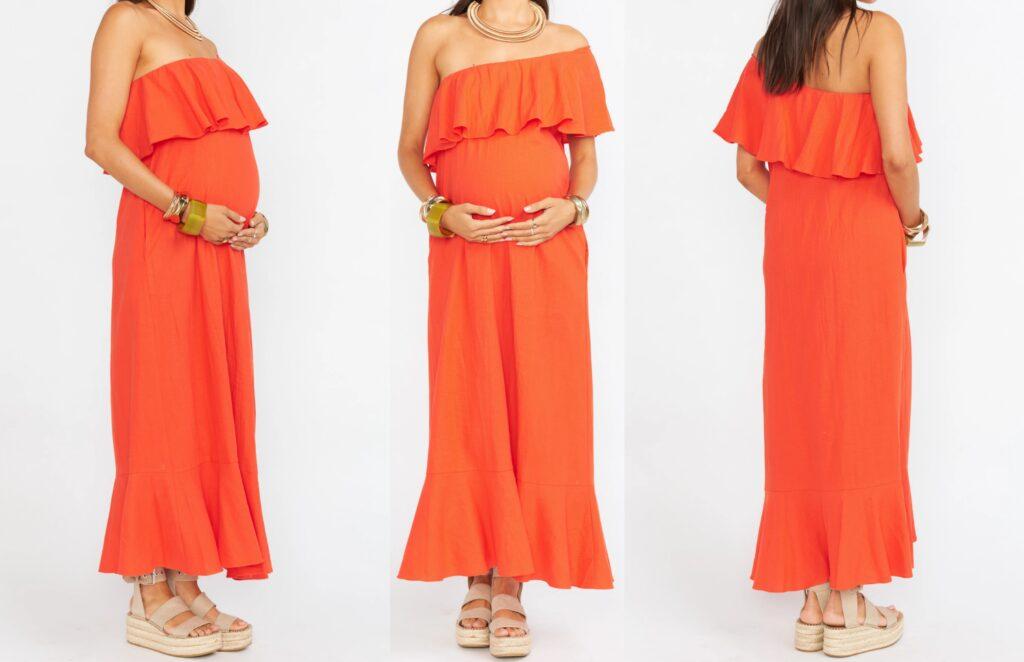 Maternity dress Midi