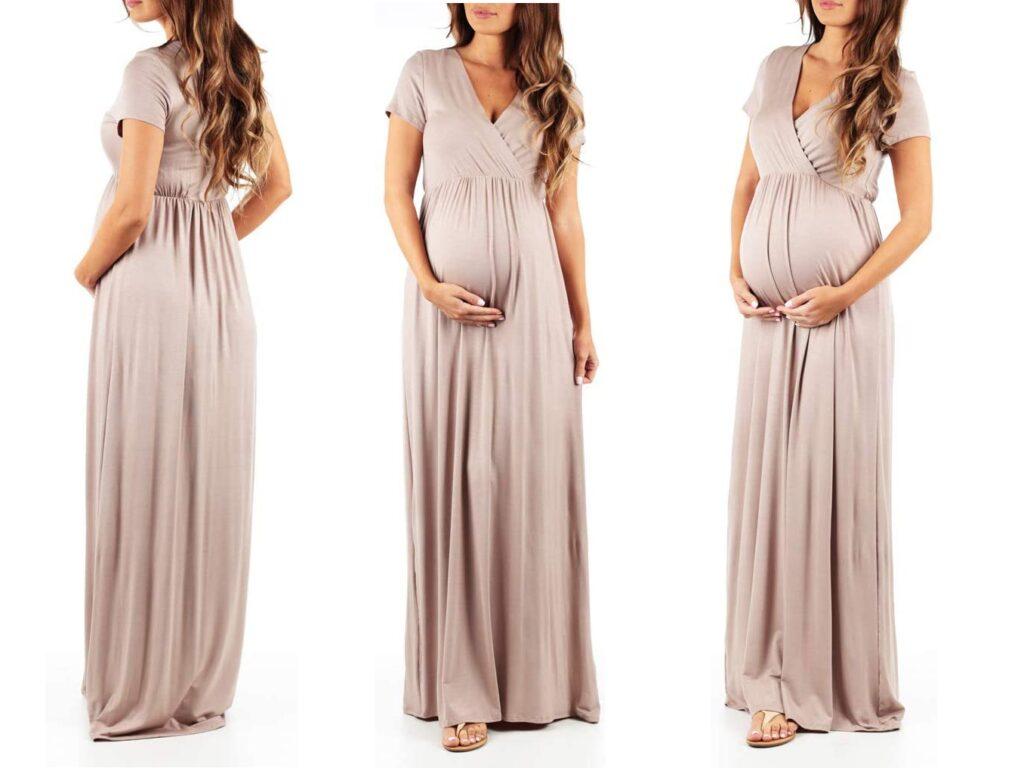 Women's Maternity Short Sleeve Dress